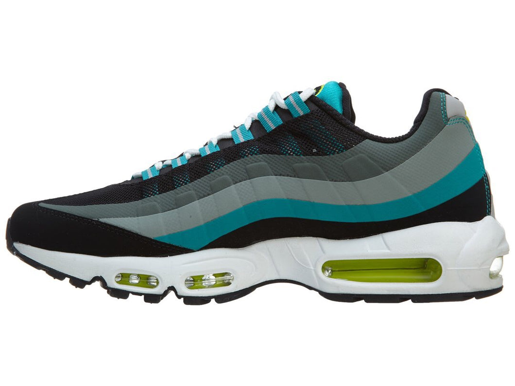 official photos 6a4c1 b3e17 Nike Air Max 95 No Sew Running Sneakers Black Venom Green-Turbo Green