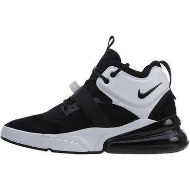 Men's Nike Air Force 270 Basketball Shoes Medium -Black & White