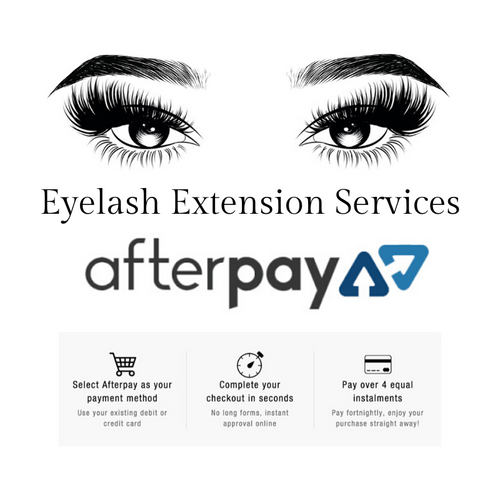 Eyelash Extensions Afterpay