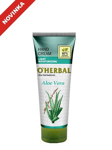 O`Herbal Krém na ruky aloe vera 75ml