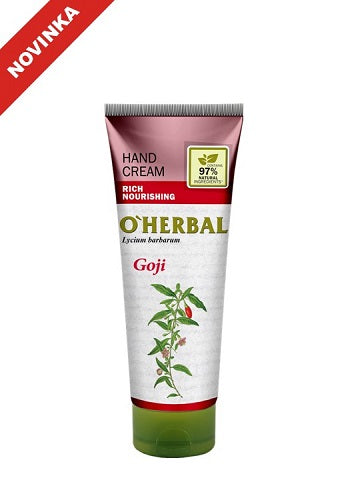 O`Herbal Krém na ruky goji 75ml