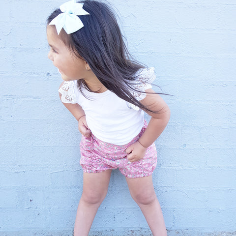 Maia , and Paisely Pucker Shorts -SOLD OUT
