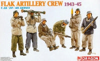 1:35 FLAK ARTILLERY CREW (WINTER 1943-45) - morethandiecast.co.za