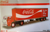 1:25 Coca Cola Dodge L-700 with Box Trailer - morethandiecast.co.za
