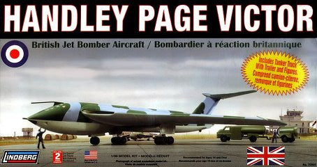 1:96 HANDLEY PAGE VICTOR INCL TANKER W/TRAILER & FIG - morethandiecast.co.za