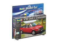VOLKSWAGEN GOLF 1 CABRIO 1:24 - (Model Set) - morethandiecast.co.za