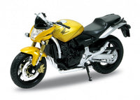 1:18 HONDA HORNET  YELLOW - morethandiecast.co.za