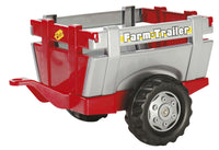 RollyFarn Trailer (Red & Silver) - morethandiecast.co.za