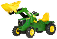 John Deere 6210 with Loader  - RollyFarmtrac - morethandiecast.co.za