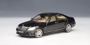 1:43 MERCEDES-BENZ S63 AMG BLACK - morethandiecast.co.za