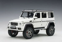 1:18 MERCEDES-BENZ G500 4X4 2 GLOSS WHITE