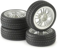 Tire & Rim Set - For 1/10 Radio Control Car - morethandiecast.co.za