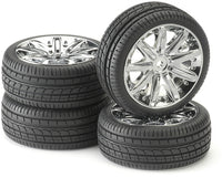 Tire & Rim Set - For 1/10 RC Car - morethandiecast.co.za