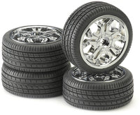 Tire & Rim Set - For 1/10 Scale Radio Control car Car - morethandiecast.co.za