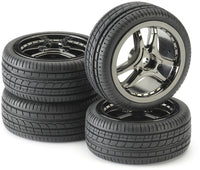 Tire & Rim Set - For 1/10 Scale Radio Control Car - morethandiecast.co.za