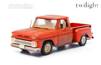 1:18 CHEV TRUCK (BELLAS) 2008 ORANGE 1963 - morethandiecast.co.za