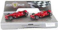 1:43 FERRARI F1 2008 SP ED CONSTRUCTORS CHAMPS 2 CAR SET - morethandiecast.co.za