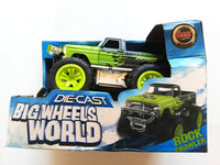 BIG WHEEL MONSTER CRASH TRUCK - morethandiecast.co.za