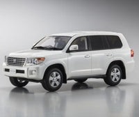 1:18 TOYOTA LAND CRUISER WHITE (RESIN)