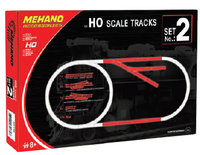 Set 2 -  15 Piece Track & Clips - morethandiecast.co.za