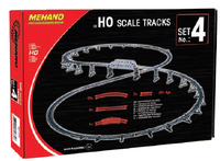 Set 4 - 26 Piece Track & Clips - morethandiecast.co.za