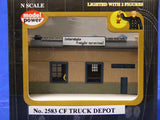 N SCALE TRUCK DEPOT BUILD UP