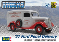 FORD DELIVERY PANEL VAN 1937 1/25