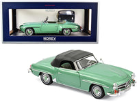 1:18 MERCEDES BENZ 190 SL 1957 LIGHT GREEN METALLIC