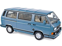 1:18 VW MICROBUS MULTIVAN 1990 LIGHT BLUE METALLIC