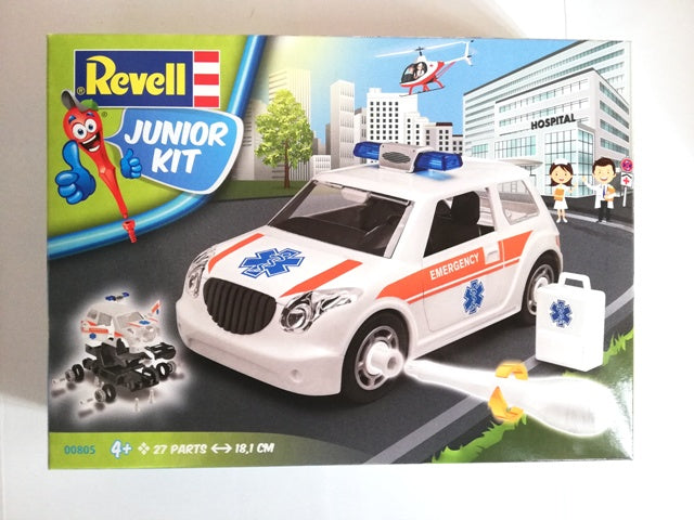 JUNIOR KIT RESCUE CAR 1/20