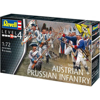 AUSTRIAN & PRUSSION INFANTRY SEVEN YEAR WAR 1/72