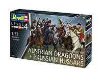 SEVEN YEAR WAR (AUSTRIAN DRAGGONS & PRUSSION HUSSARS) 1/72