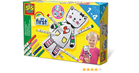 CUDDLEY TOY COLOURING SET CAT