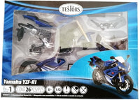 YAMAHA QZF-R1 MOTORCYCLE BLUE 2008 1/12