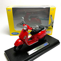 1:18 VESPA GTS 125CC 2017 RED - morethandiecast.co.za