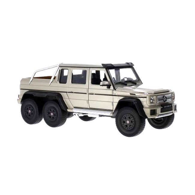 1/24 MERCEDES BENZ G63 AMG 6X6 GOLD - morethandiecast.co.za