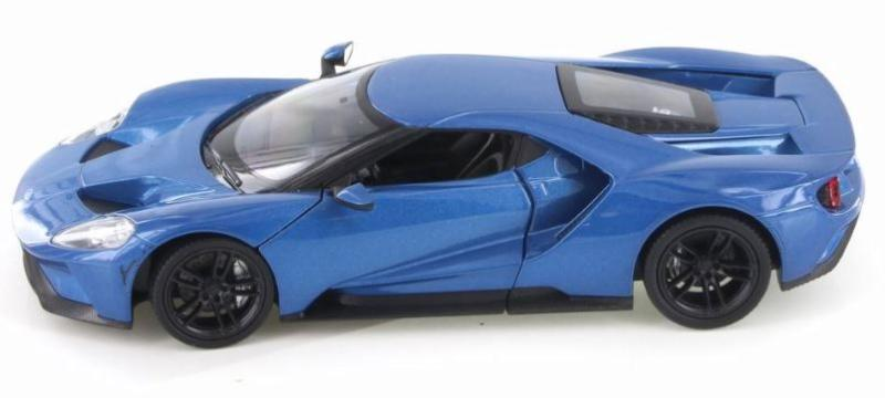 1/24 FORD GT 2017 MET BLUE - morethandiecast.co.za