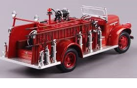 1:24 GMC FIRE TRUCK RED
