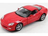1:24 CORVETTE Z06 SUNSET RED 2007