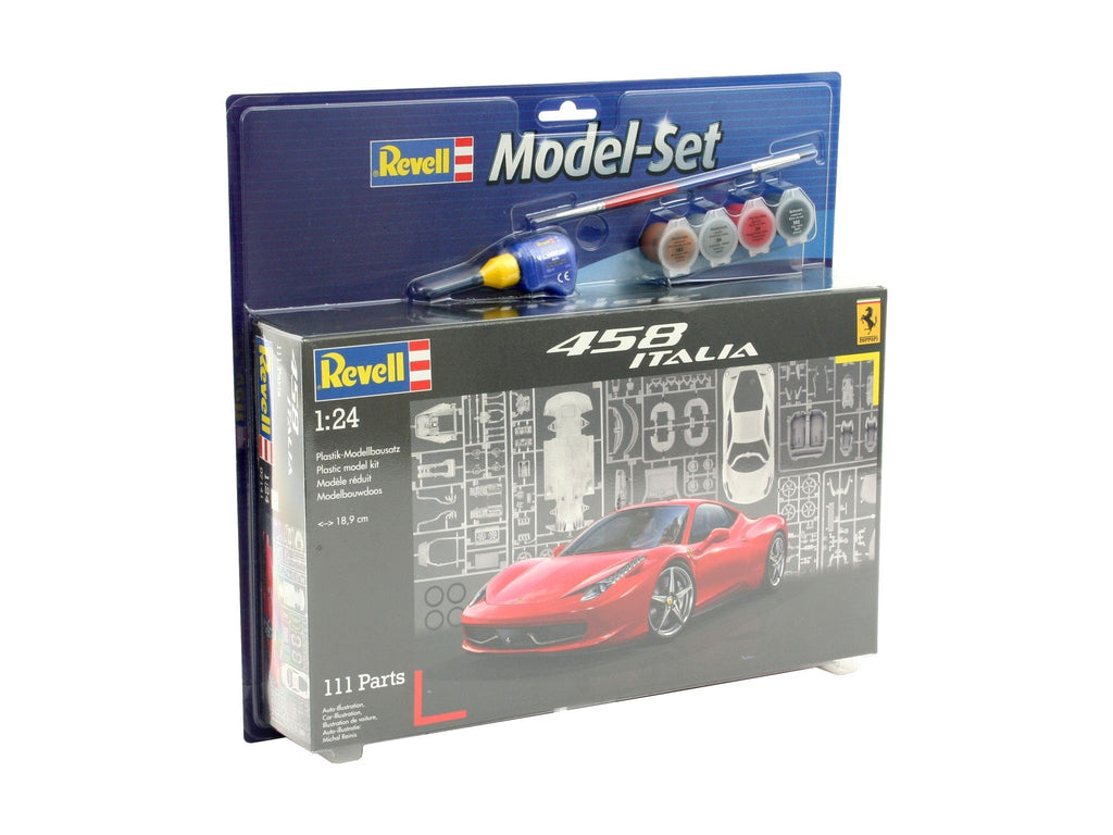 FERRARI 458 ITALIA 1:24 - (Model Set) - morethandiecast.co.za