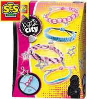 PINK CITY KNOTTING BRACELETS - morethandiecast.co.za
