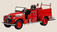 1:24 GMC FIRE TRUCK RED  1941 - morethandiecast.co.za