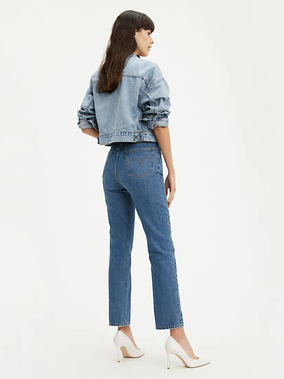 Levis, 501 Jeans For Woman Athens Dark