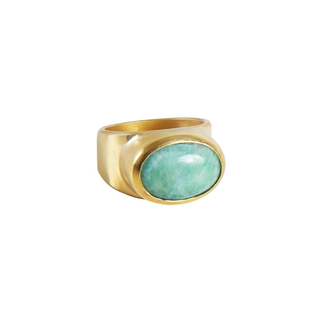 Fairley, Amazonite Cocktail Ring
