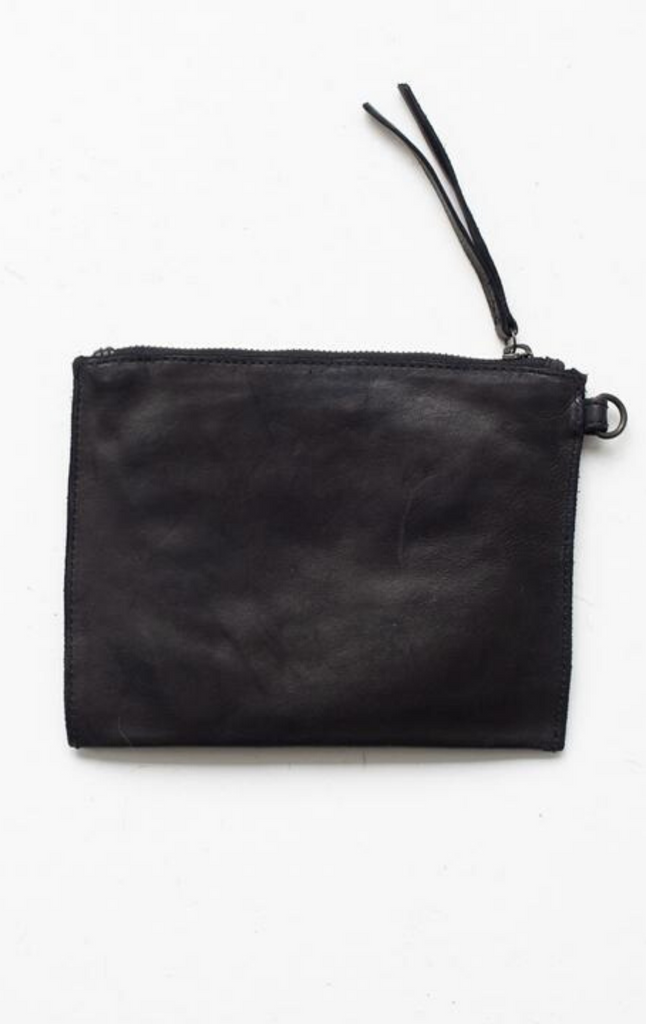 Juju & Co Large Flat Pouch Black