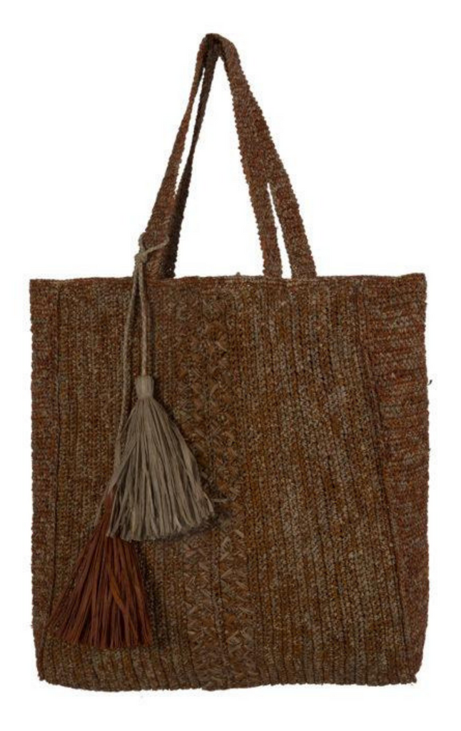 Made In Mada, Ilona Bag- Cumin & Tea