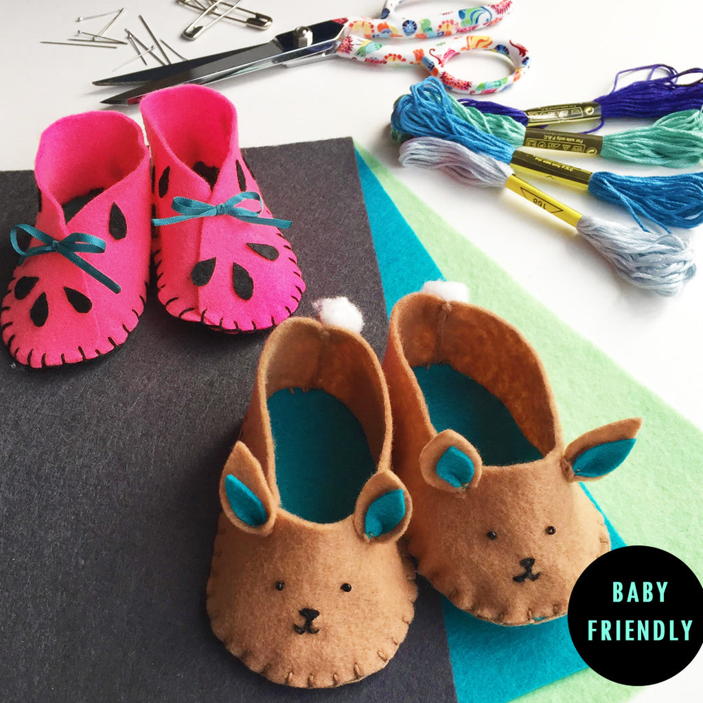 Felt Baby Shoes (Cremorne)