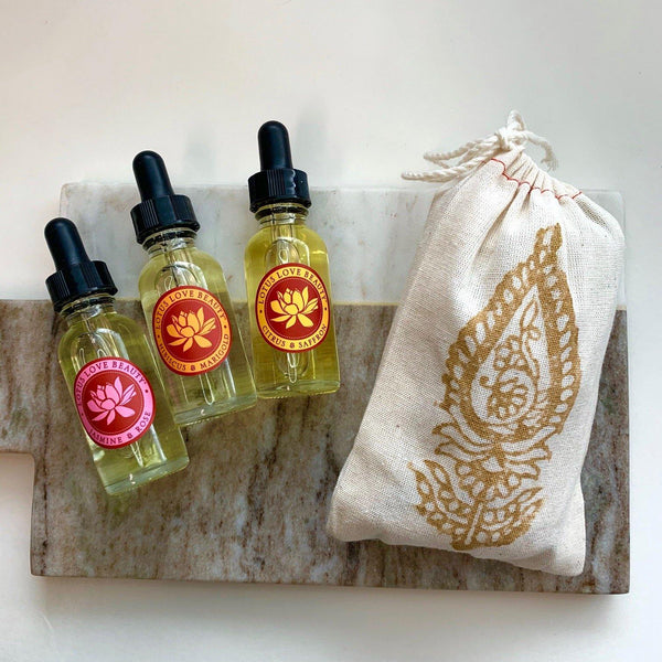 Mini Oil Trio - Lotus Love Beauty