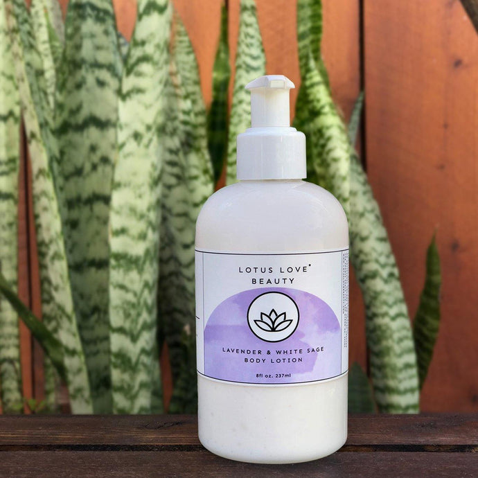 Lavender & White Sage Body Lotion