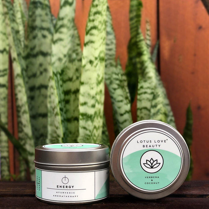 Verbena & Coconut Travel Tin Candle